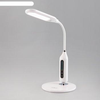 Настольная лампа soft 8вт led 3300-6500к белый