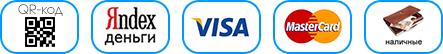 мы принимаем visa и mastercard